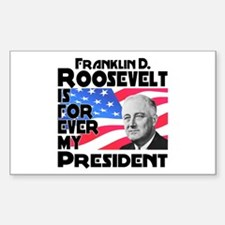 FDR 4ever Decal