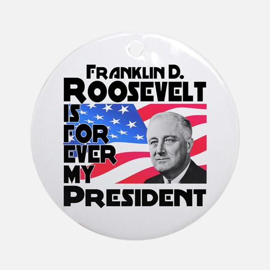 FDR 4ever Ornament (Round)