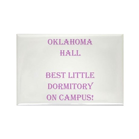 Oklahoma Hall Rectangle Magnet (100 pack)