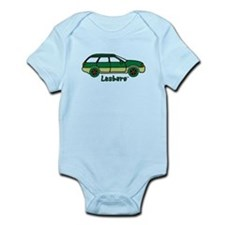 Lesbaru Picture and Logo Infant Bodysuit