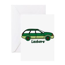 Lesbaru Picture and Logo Greeting Card