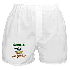 Onamia You Betcha Boxer Shorts