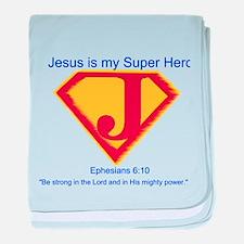 SuperHero baby blanket