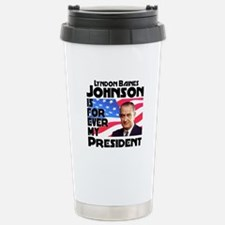 LBJ 4ever Travel Mug