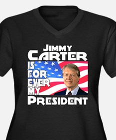 Jimmy Carter My President Women's Plus Size V-Neck