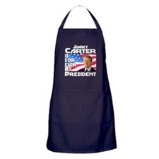 Jimmy Carter My President Apron (dark)