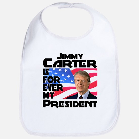 Jimmy Carter My President Bib