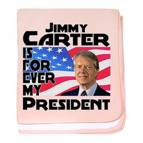 Jimmy Carter My President baby blanket