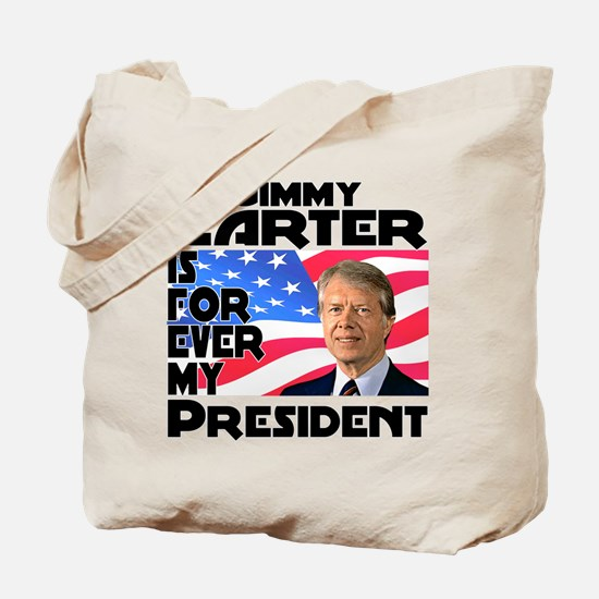 Jimmy Carter My President Tote Bag