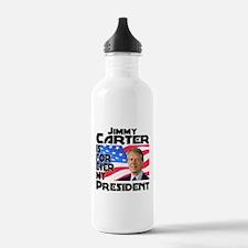Jimmy Carter My President Water Bottle