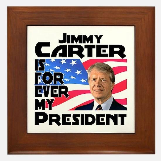 Jimmy Carter My President Framed Tile