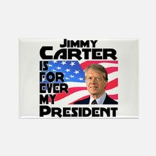 Jimmy Carter My President Rectangle Magnet