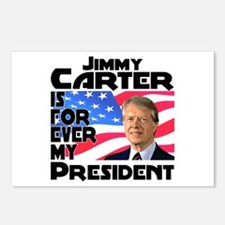 Jimmy Carter My President Postcards (Package of 8)