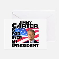 Jimmy Carter My President Greeting Card
