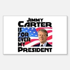 Jimmy Carter My President Decal