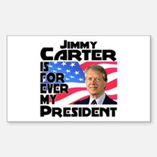 Jimmy Carter My President Sticker (Rectangle)