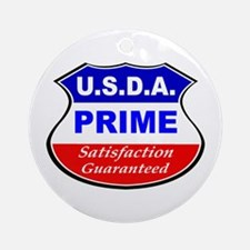 USDA Prime Ornament (Round)