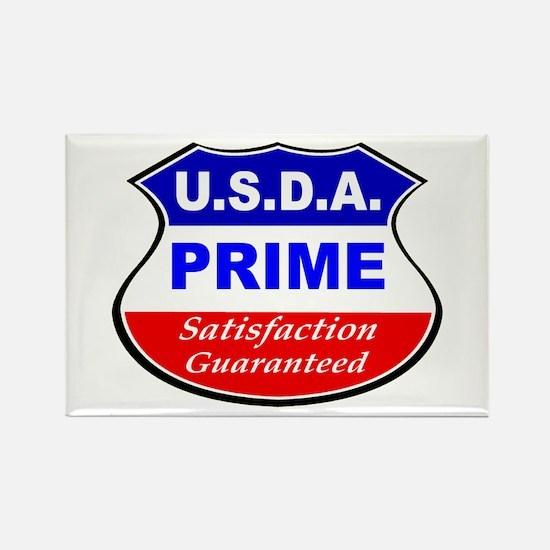 USDA Prime Rectangle Magnet