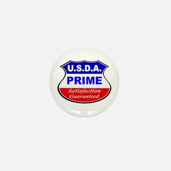 USDA Prime Mini Button (10 pack)