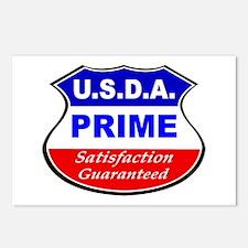 USDA Prime Postcards (Package of 8)