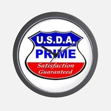 USDA Prime Wall Clock