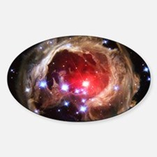 Red Supergiant Oval Decal