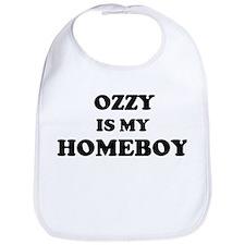 Ozzy Is My Homeboy Bib