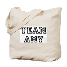 Team Amy Tote Bag