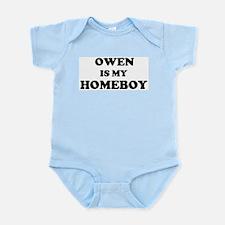 Owen Is My Homeboy Infant Creeper