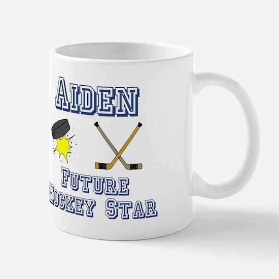 Aiden - Future Hockey Star Mug