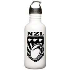 rugby new zealand Water Bottle