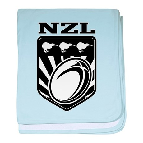 rugby new zealand baby blanket