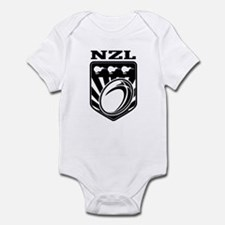 rugby new zealand Infant Bodysuit