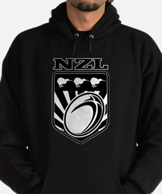 rugby new zealand Hoodie