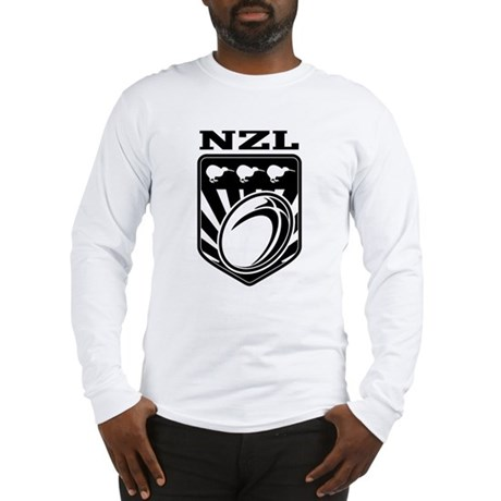 rugby new zealand Long Sleeve T-Shirt