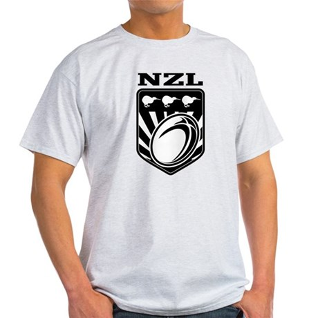 rugby new zealand Light T-Shirt