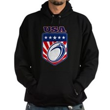 rugby usa Hoody