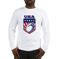 rugby usa Long Sleeve T-Shirt