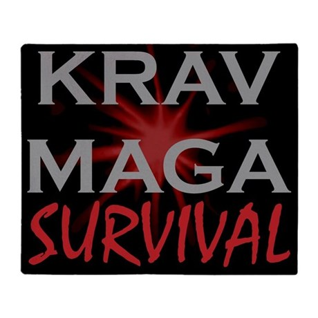 Krav Maga Throw Blanket