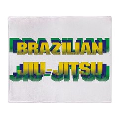 Jiu-Jitsu Throw Blanket