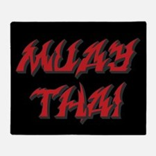 Muay Thai Throw Blanket