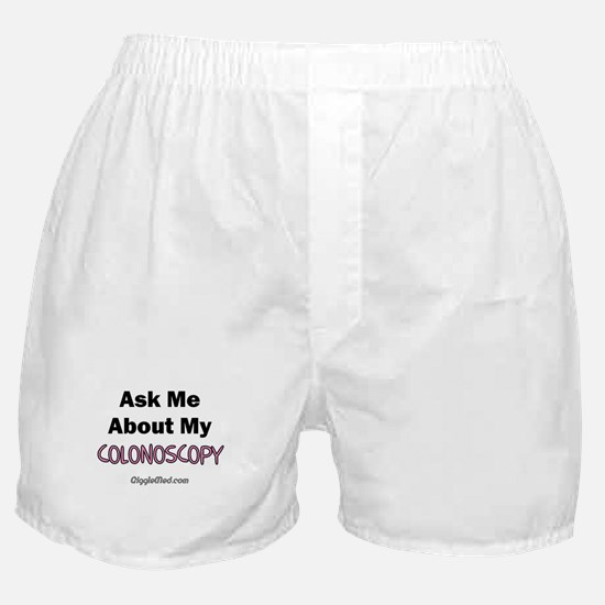Colonoscopy Boxer Shorts