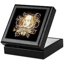 Shakespeare Crest Keepsake Box