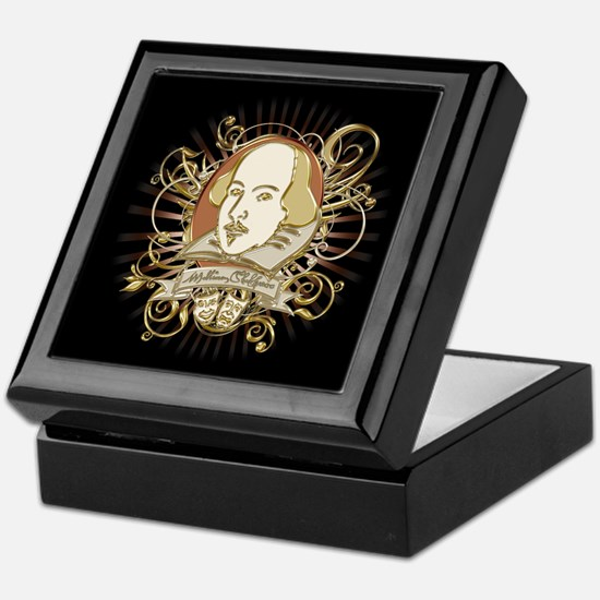 Shakespeare Crest Keepsake Box
