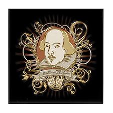Shakespeare Crest Tile Coaster
