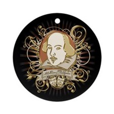 Shakespeare Crest Ornament (Round)