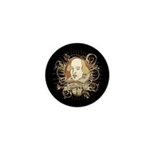 Shakespeare Crest Mini Button (10 pack)