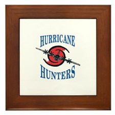 Hurricane Hunter Framed Tile