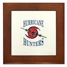 Hurricane Hunter Framed Tile