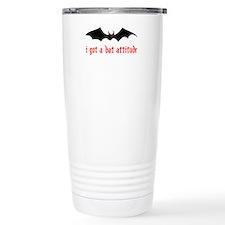 Bat Attitude Travel Mug